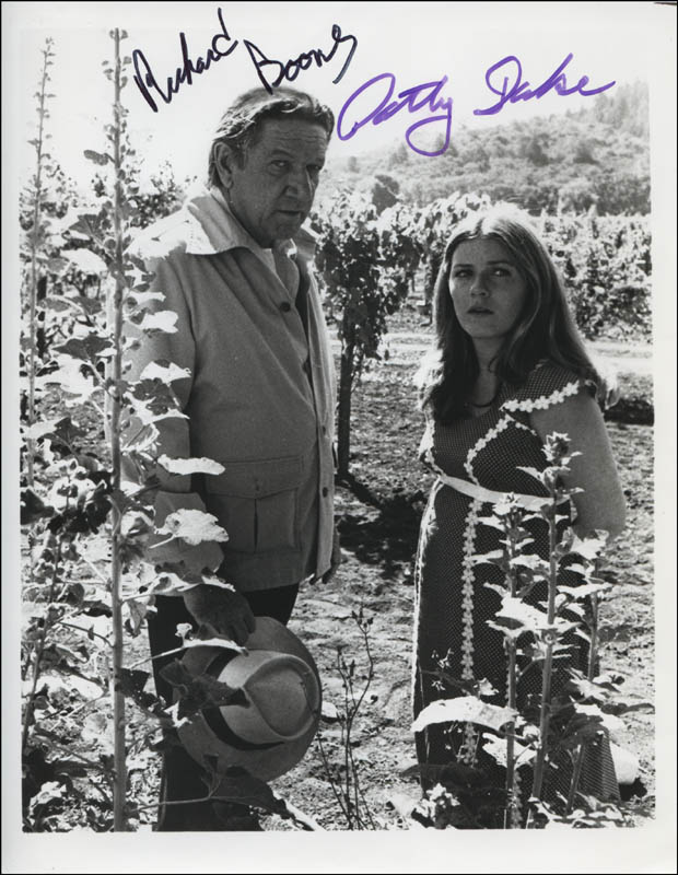 Image 1 for Deadly Harvest Movie Cast - Autographed Signed Photograph co-signed by: Richard Boone, Patty Duke - HFSID 322564