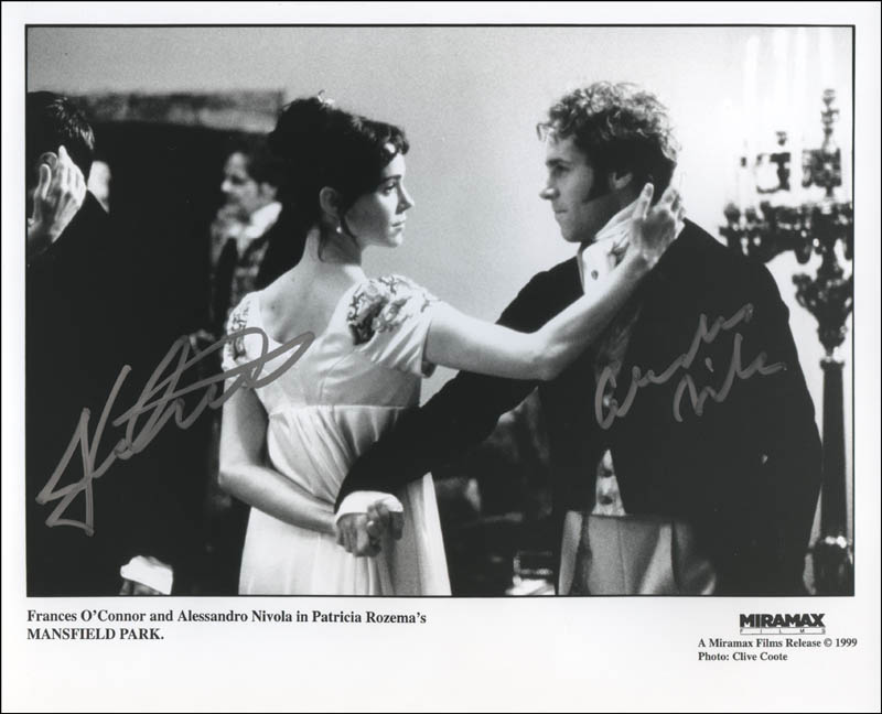 Image 1 for Mansfield Park Movie Cast - Autographed Signed Photograph co-signed by: Alessandro Nivola, Frances O'Connor - HFSID 322609