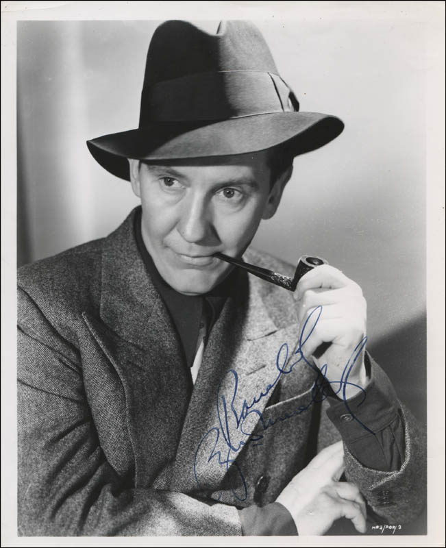 Image 1 for Burgess Meredith - Autographed Inscribed Photograph - HFSID 322783