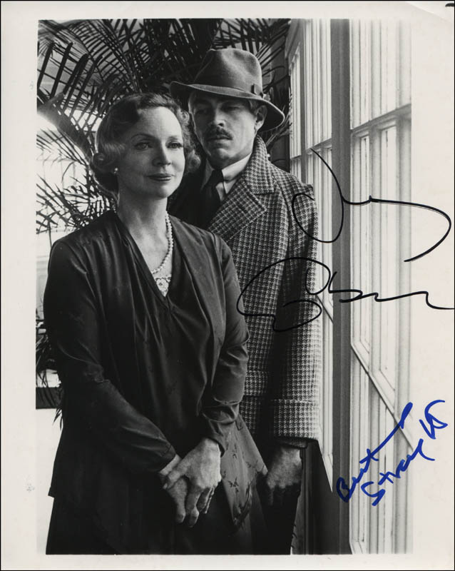 Image 1 for The Dain Curse Movie Cast - Autographed Signed Photograph co-signed by: Beatrice Straight, James Coburn - HFSID 322889