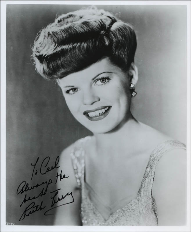 Image 1 for Ruth Terry - Autographed Inscribed Photograph - HFSID 322908