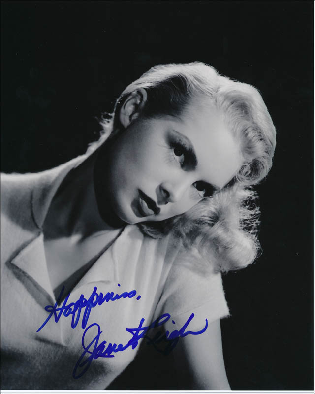 Image 1 for Janet Leigh - Autographed Signed Photograph - HFSID 322973