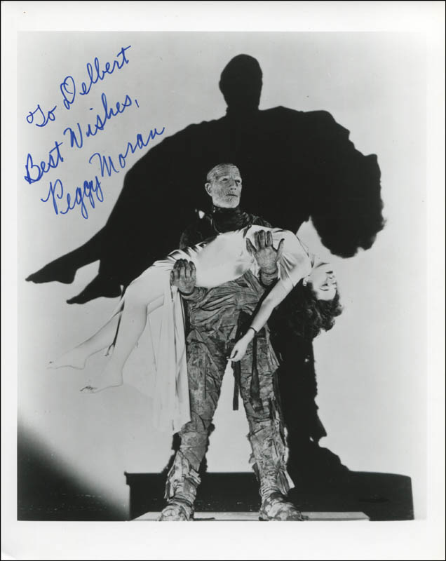 Image 1 for Peggy Moran - Autographed Inscribed Photograph - HFSID 323047