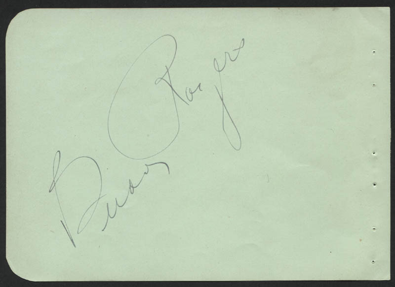 Image 1 for Charles 'Buddy' Rogers - Autograph co-signed by: Rosa Ponselle - HFSID 323074