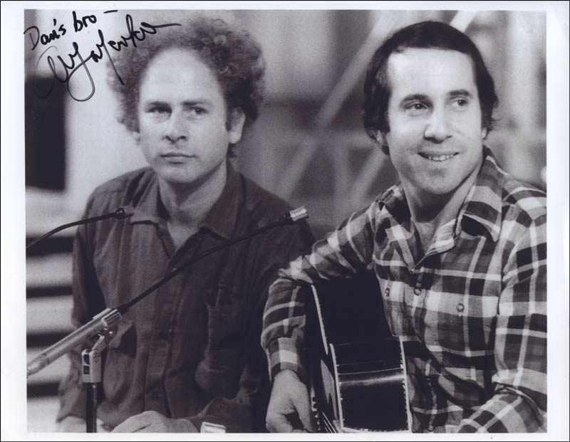 Image 1 for Art Garfunkel - Autographed Inscribed Photograph - HFSID 323121