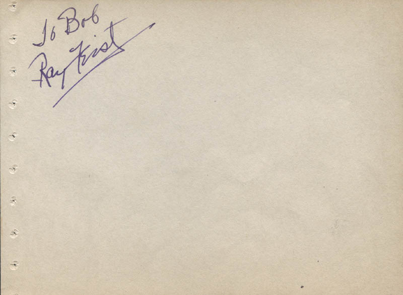 Image 1 for Raymond Feist - Inscribed Signature - HFSID 323125