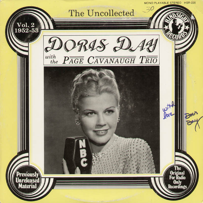 Image 1 for Doris Day - Record Album Cover Signed - HFSID 323139