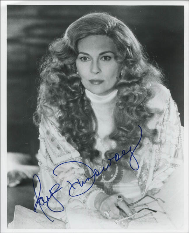 Image 1 for Faye Dunaway - Autographed Signed Photograph - HFSID 323141