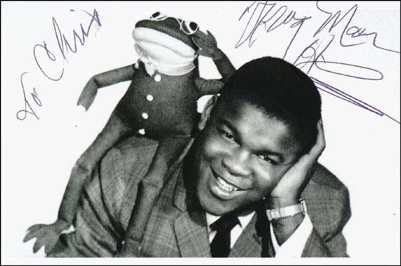 Image 1 for Clarence 'Frogman' Henry - Autographed Inscribed Photograph - HFSID 323191
