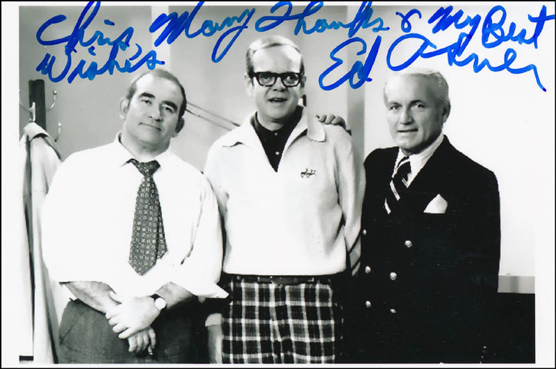 Image 1 for Ed Asner - Autographed Inscribed Photograph - HFSID 323213