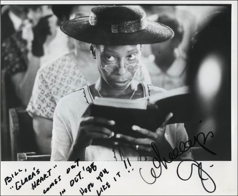 Image 1 for Whoopi Goldberg - Autographed Inscribed Photograph - HFSID 323229