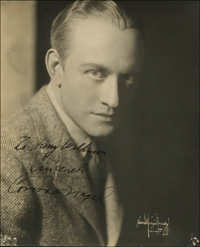 Image 1 for Conrad Nagel - Autographed Inscribed Photograph - HFSID 323278