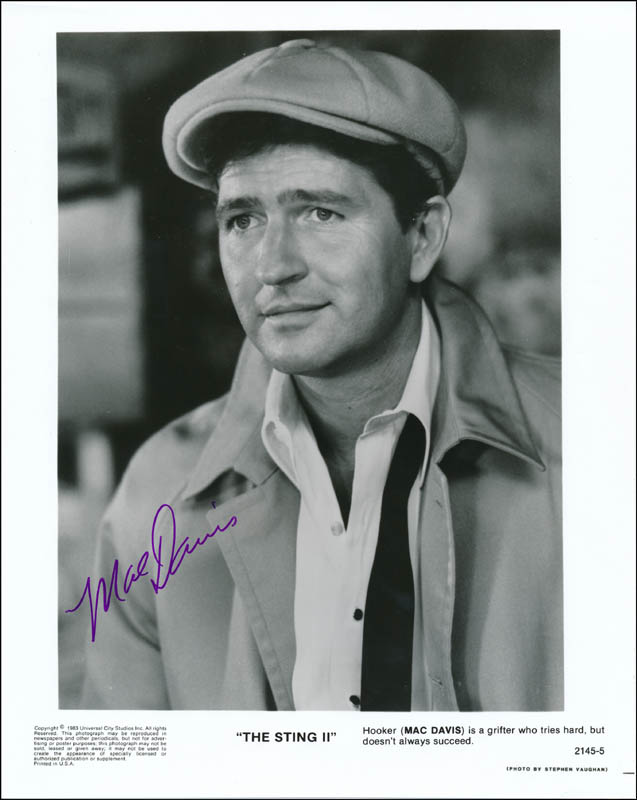 Image 1 for Mac Davis - Printed Photograph Signed In Ink - HFSID 323305