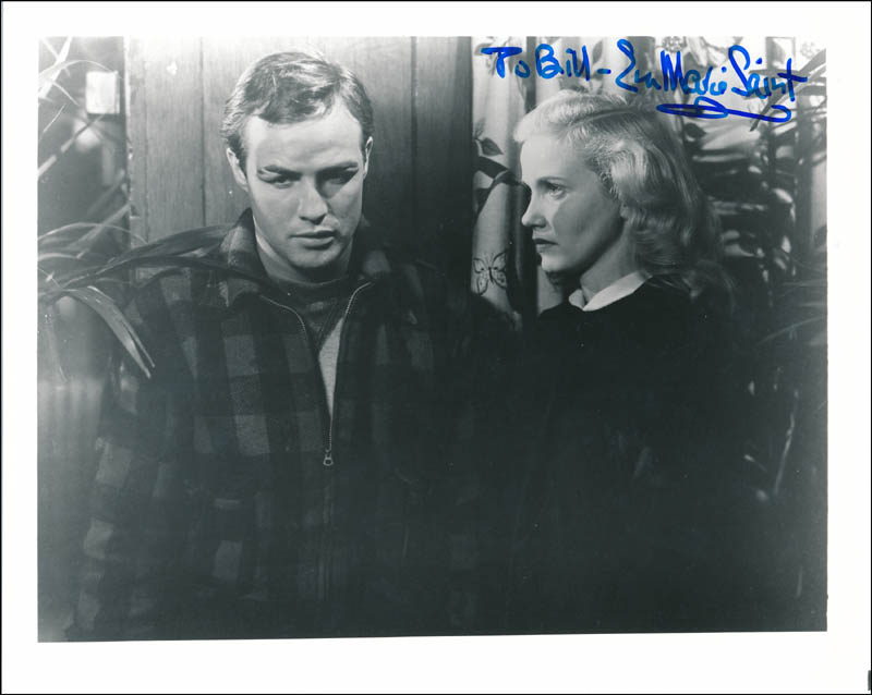Image 1 for Eva Marie Saint - Autographed Inscribed Photograph - HFSID 323336