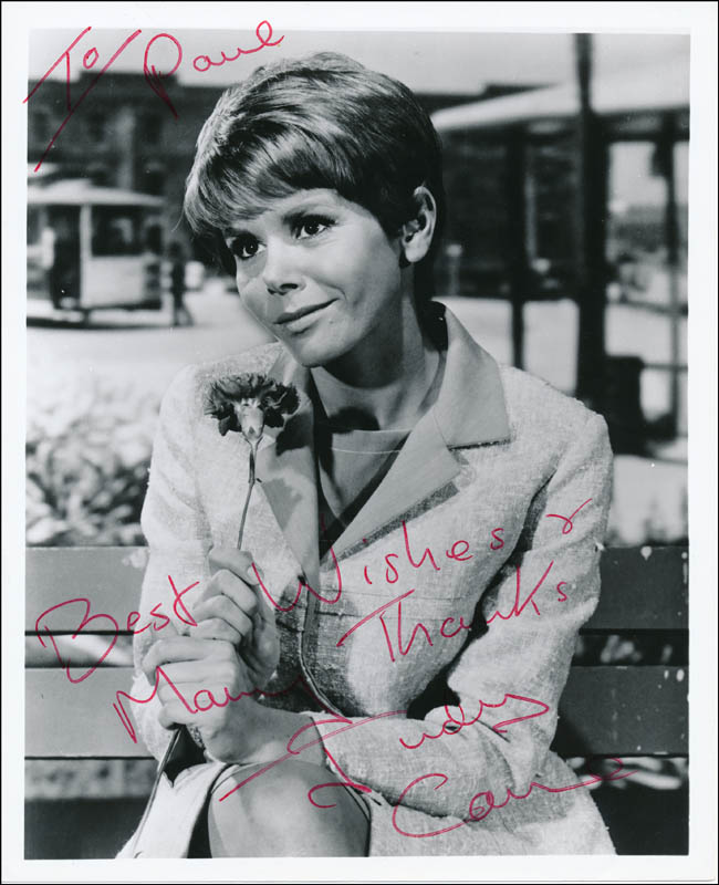 Image 1 for Judy Carne - Autographed Inscribed Photograph - HFSID 323374