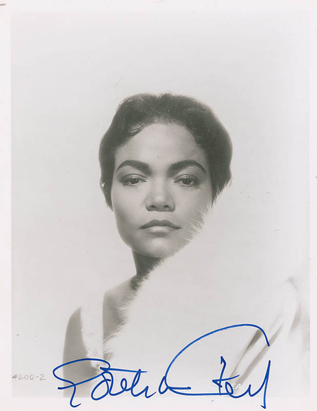 Image 1 for Eartha Kitt - Autographed Signed Photograph - HFSID 323394