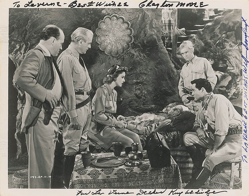 Image 1 for Perils Of Nyoka Movie Cast - Autographed Inscribed Photograph with co-signers - HFSID 323396
