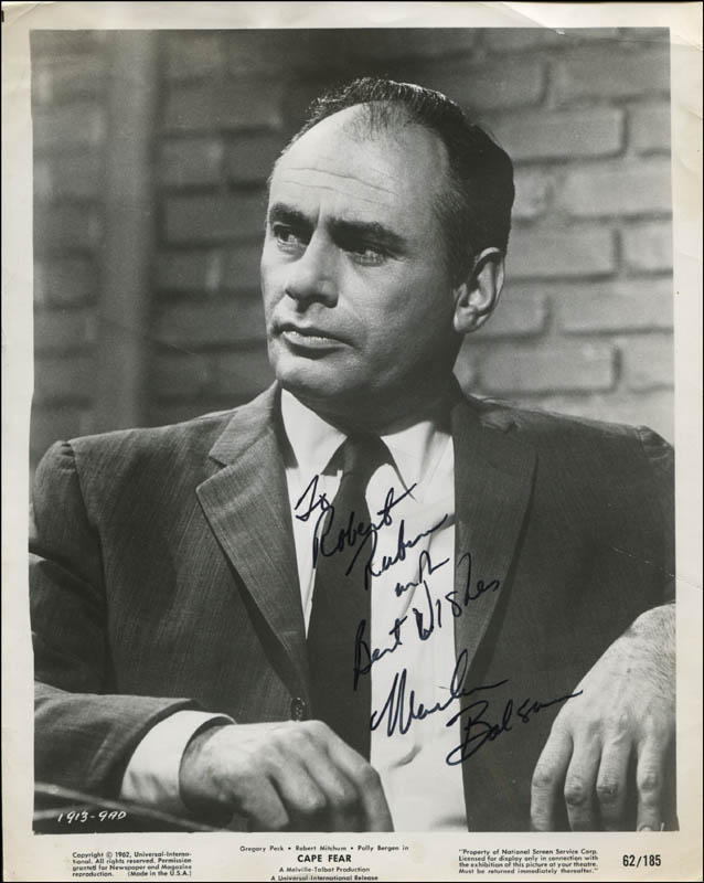 Image 1 for Martin Balsam - Inscribed Printed Photograph Signed In Ink - HFSID 323422