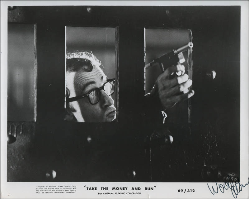 Image 1 for Woody Allen - Printed Photograph Signed In Ink - HFSID 323454