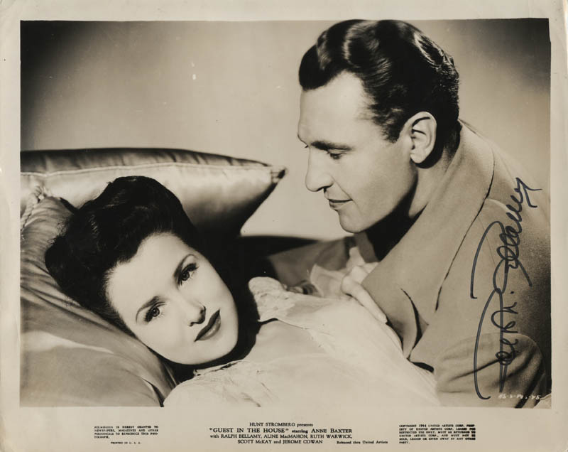 Image 1 for Ralph Bellamy - Printed Photograph Signed In Ink - HFSID 323487