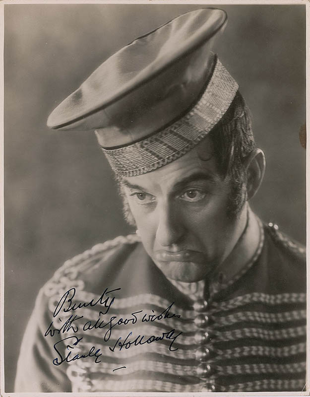 Image 1 for Stanley Holloway - Autographed Inscribed Photograph - HFSID 323556