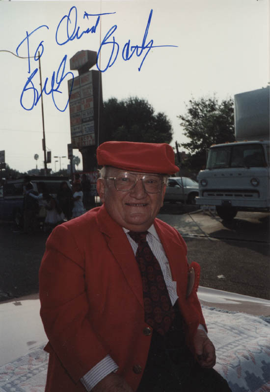 Image 1 for Billy Barty - Autographed Inscribed Photograph - HFSID 323584
