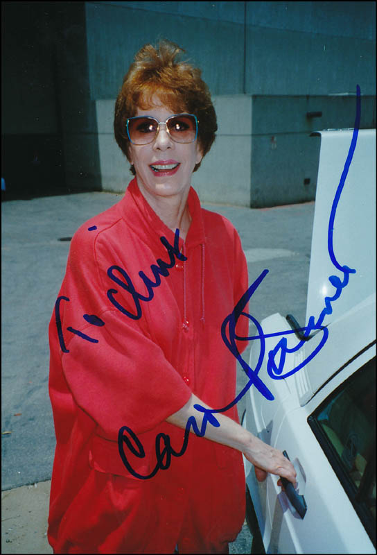 Image 1 for Carol Burnett - Autographed Inscribed Photograph - HFSID 323605