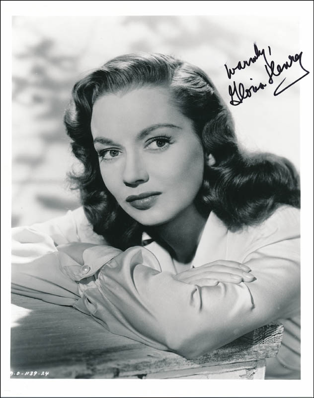 Image 1 for Gloria Henry - Autographed Signed Photograph - HFSID 323685