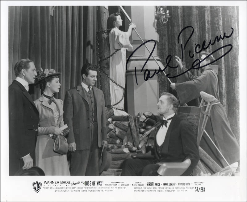 Image 1 for Paul Picerni - Autographed Signed Photograph - HFSID 324010