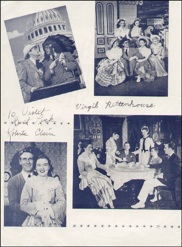 Image 1 for High Button Shoes Play Cast - Inscribed Program Signed with co-signers - HFSID 324042