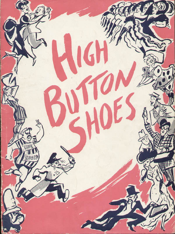Image 11 for High Button Shoes Play Cast - Inscribed Program Signed with co-signers - HFSID 324042