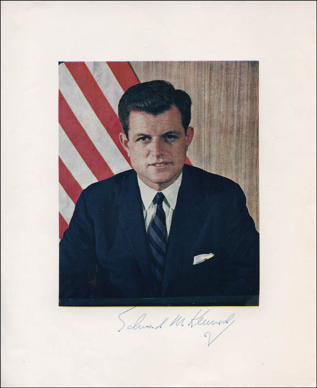 Image 1 for Edward 'Ted' Kennedy - Autographed Signed Photograph - HFSID 324101