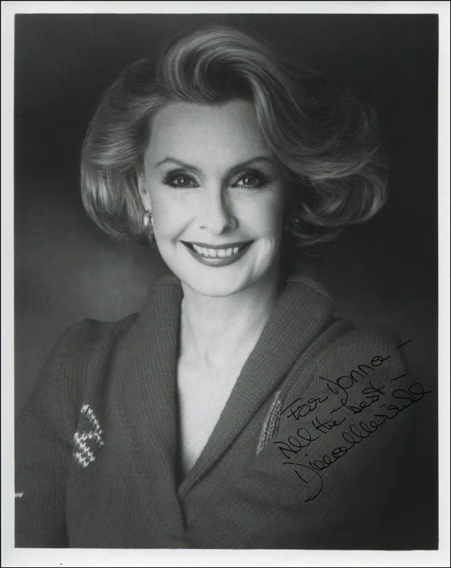 Image 1 for Dina Merrill - Autographed Inscribed Photograph - HFSID 324192