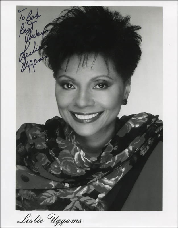 Image 1 for Leslie Uggams - Inscribed Printed Photograph Signed In Ink - HFSID 324195