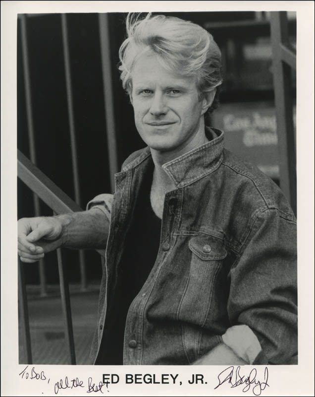 Image 1 for Ed Begley Jr. - Inscribed Printed Photograph Signed In Ink - HFSID 324202
