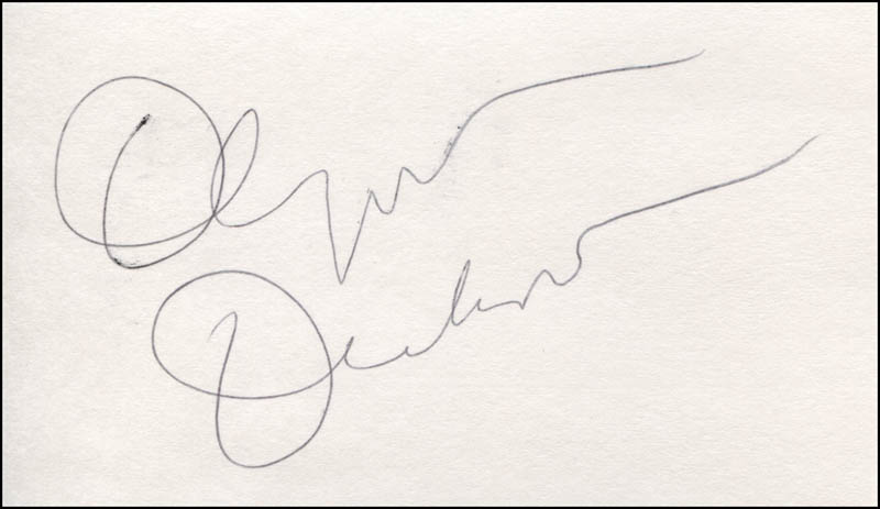 Image 1 for Olympia Dukakis - Autograph - HFSID 324248