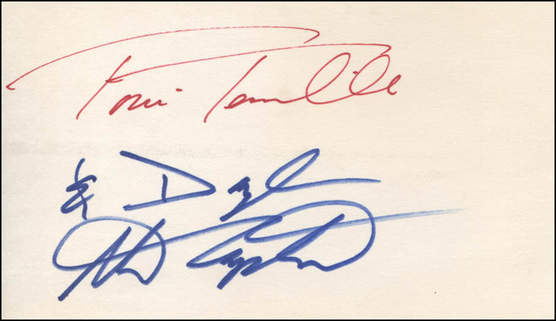 Image 1 for Captain & Tennille - Autograph co-signed by: Captain & Tennille (Daryl Dragon), Captain & Tennille (Toni Tennille) - HFSID 324263