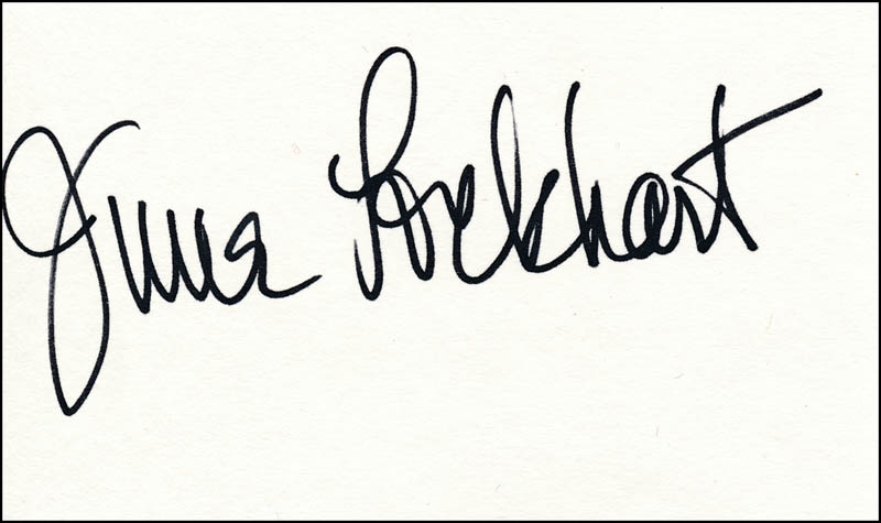 Image 1 for June Lockhart - Autograph - HFSID 324281