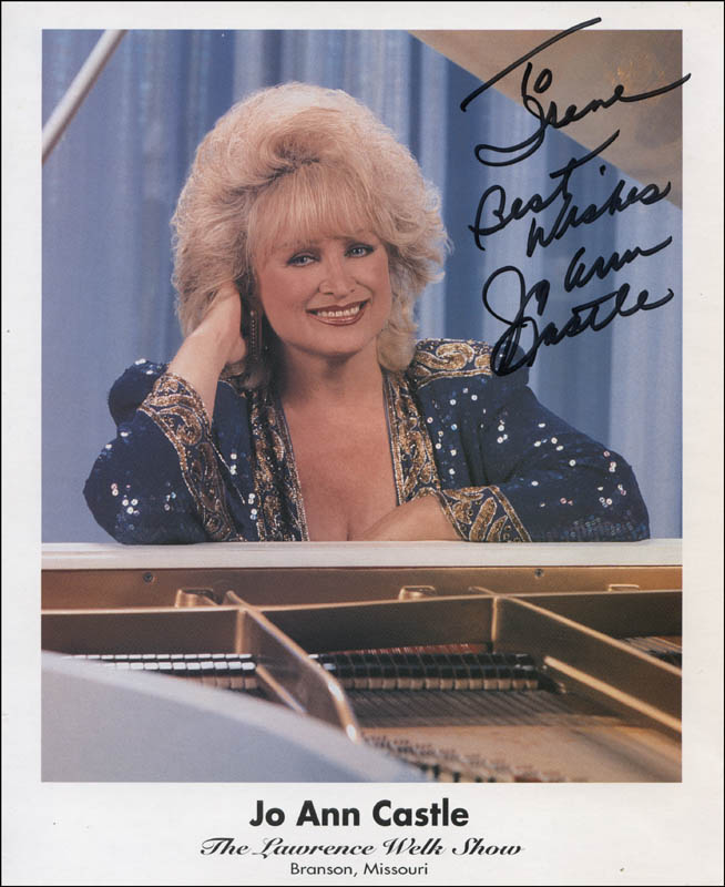 Image 1 for Joann Castle - Autographed Inscribed Photograph - HFSID 324322