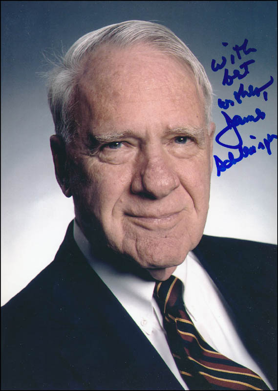 Image 1 for James R. Schlesinger - Autographed Signed Photograph - HFSID 324693