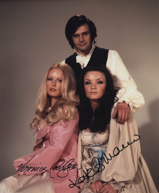 Image 1 for The Horror Of Frankenstein Movie Cast - Autographed Signed Photograph co-signed by: Kate O'Mara, Veronica Carlson - HFSID 324698
