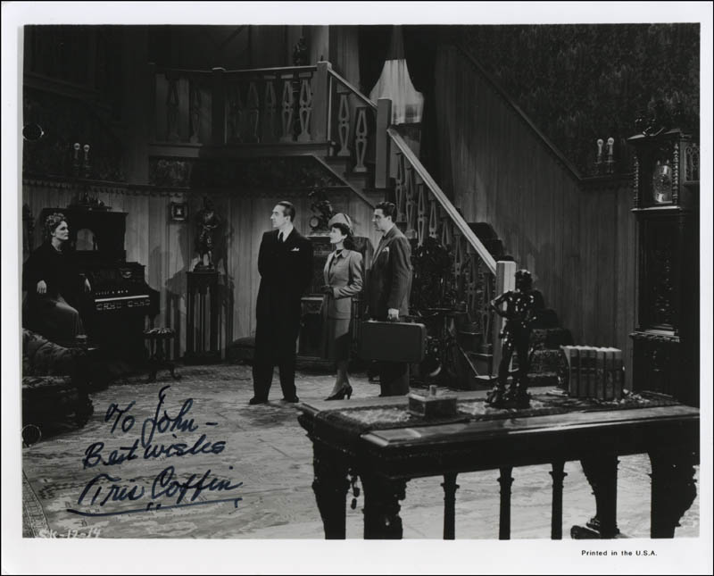 Image 1 for Tris Coffin - Autographed Inscribed Photograph - HFSID 324740