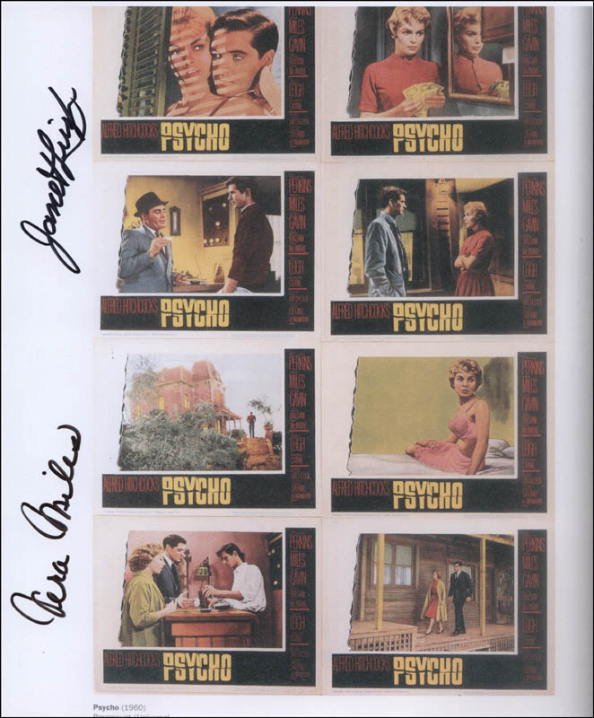 Image 1 for Psycho! Movie Cast - Autographed Signed Photograph co-signed by: Vera Miles, Janet Leigh - HFSID 324745