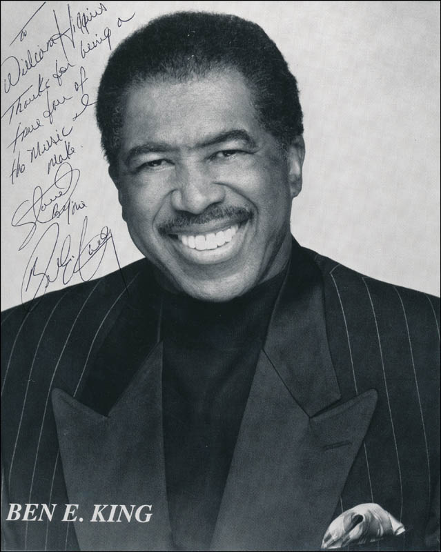 Image 1 for Ben E. King - Inscribed Printed Photograph Signed In Ink - HFSID 325011