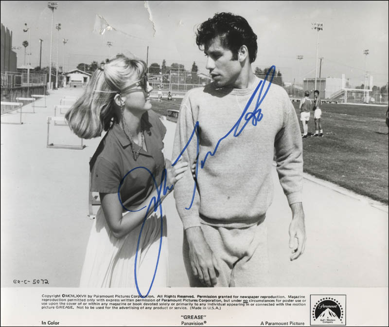 Image 1 for John Travolta - Printed Photograph Signed In Ink - HFSID 325275