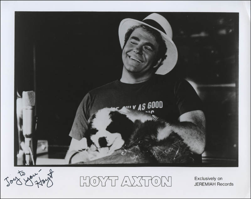 Image 1 for Hoyt Axton - Printed Photograph Signed In Ink - HFSID 325289