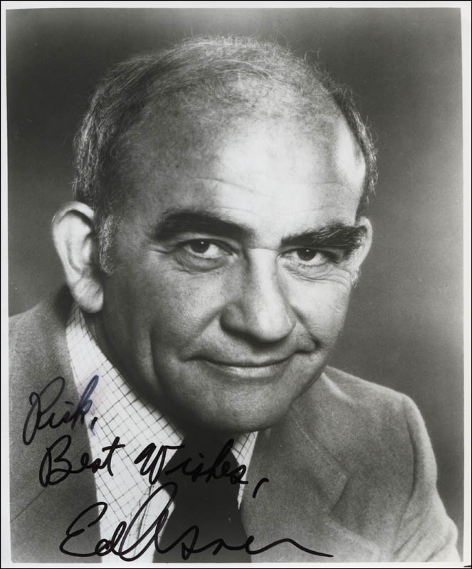 Image 1 for Ed Asner - Autographed Inscribed Photograph - HFSID 325320