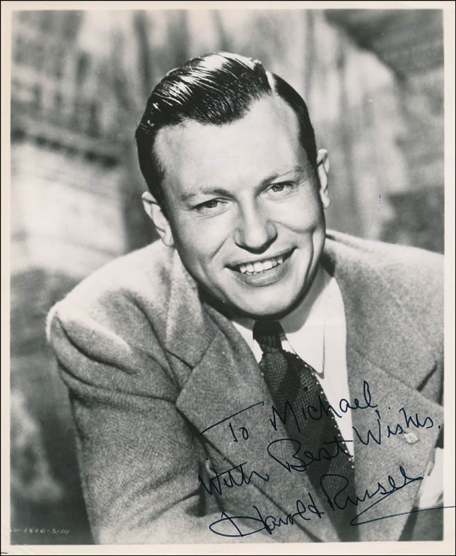 Image 1 for Harold Russell - Autographed Inscribed Photograph - HFSID 325348