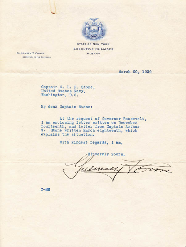 Image 3 for President Franklin D. Roosevelt - Typed Letter Signed 12/14/1928 - HFSID 32541