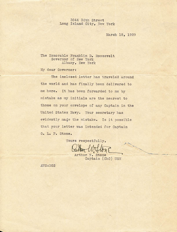 Image 4 for President Franklin D. Roosevelt - Typed Letter Signed 12/14/1928 - HFSID 32541